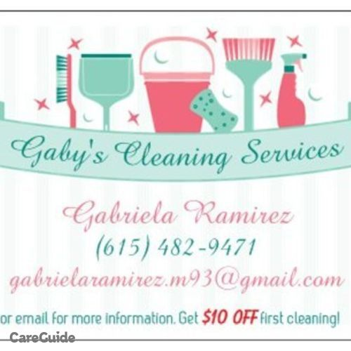 Housekeeper Provider Gabriela Ramirez's Profile Picture