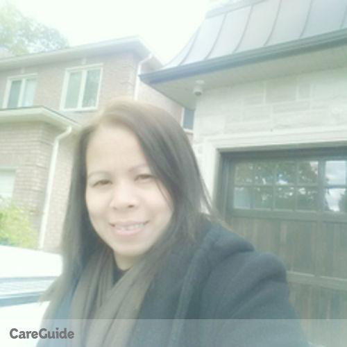 Canadian Nanny Provider Melba V's Profile Picture