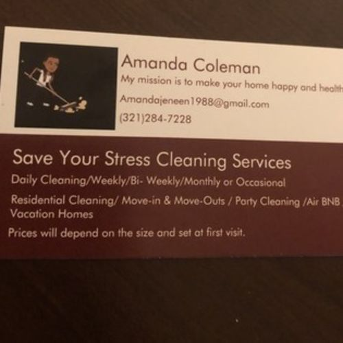 Osceola Residential house cleaning and Commercial Cleaning