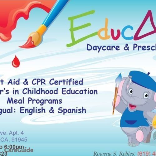 Child Care Provider EducArt Home Daycare's Profile Picture