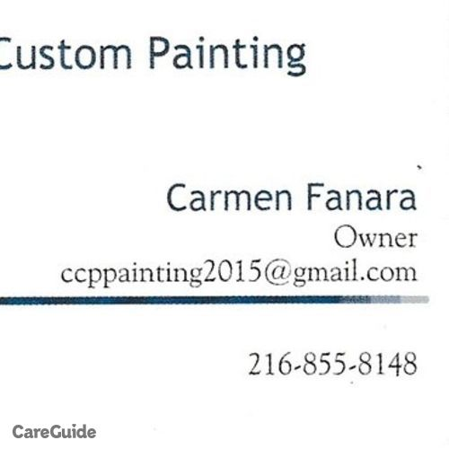 Painter Provider Tony Fanara's Profile Picture