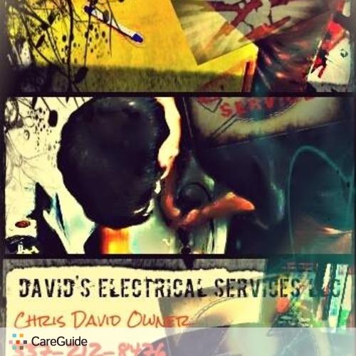 Electrician Provider Christopher David's Profile Picture