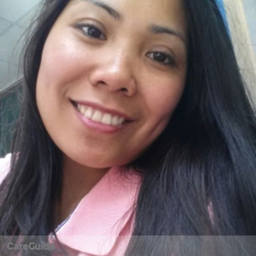Canadian Nanny Provider Rovelyn Dulay's Profile Picture