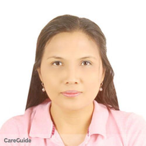 Canadian Nanny Provider Aizah Czarina Nojadera's Profile Picture