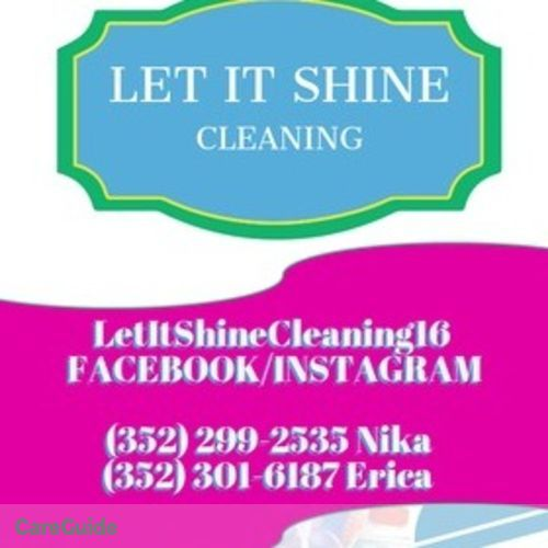 Housekeeper Provider Nika&Erica Cleaning's Profile Picture