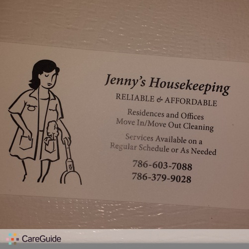 Housekeeper Provider Jennifer P's Profile Picture