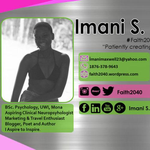 Canadian Nanny Provider Imani Maxwell's Profile Picture