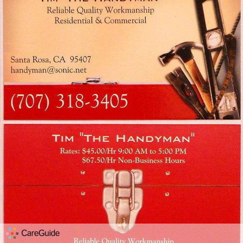 Handyman Provider Tim Webb's Profile Picture