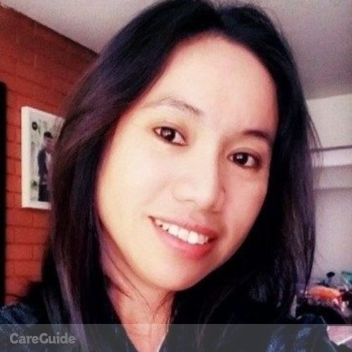 Canadian Nanny Provider Mignonette P's Profile Picture