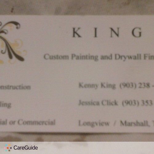 Painter Provider Kenny King's Profile Picture