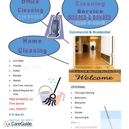 Housekeeper Provider Huckaby's Cleaning Service's Profile Picture
