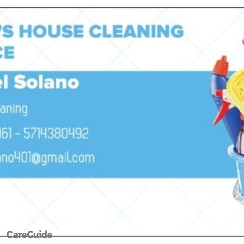 Housekeeper Provider Mabel Solano's Profile Picture