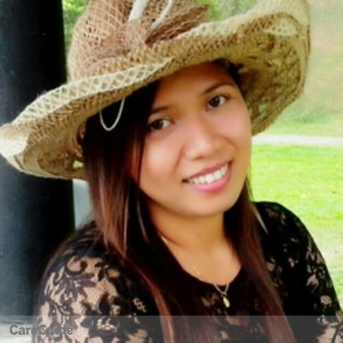 Canadian Nanny Provider Jenilyn D's Profile Picture