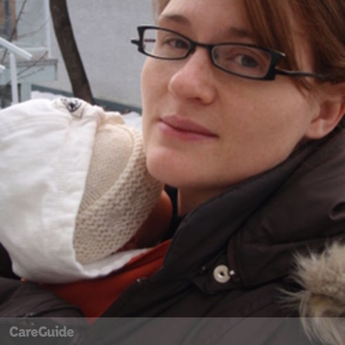 Canadian Nanny Provider Marie-Helene B's Profile Picture