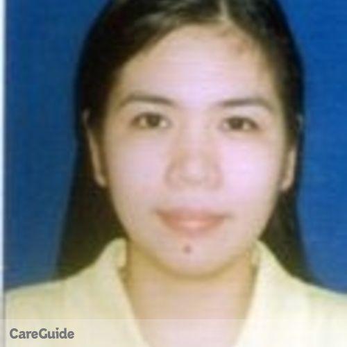 Canadian Nanny Provider Jomalyn F's Profile Picture