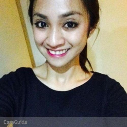 Canadian Nanny Provider Mia Jamaica Tunac's Profile Picture