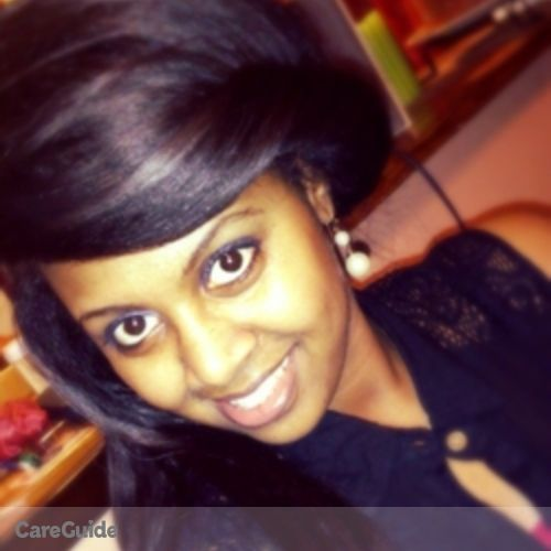 Canadian Nanny Provider Hana Bekele's Profile Picture
