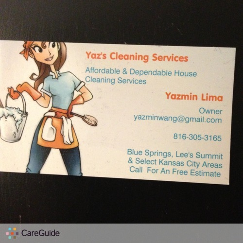 Housekeeper Provider Yazmin Lima's Profile Picture