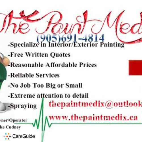 Painter Provider Mike Cudney's Profile Picture