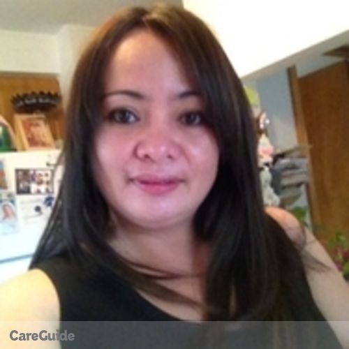 Canadian Nanny Provider Maricel Caranto's Profile Picture