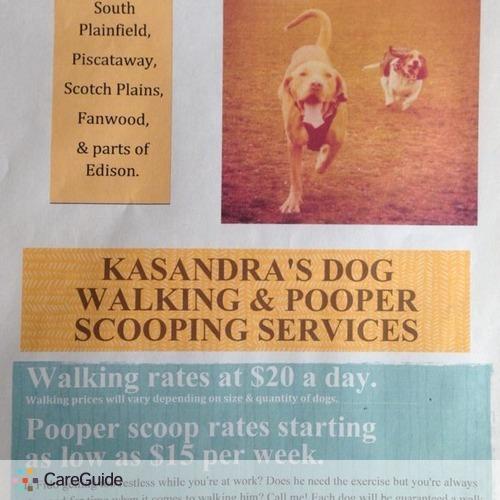 Pet Care Provider Kasandra J's Profile Picture