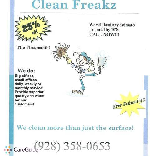 Housekeeper Provider Clean Freakz's Profile Picture