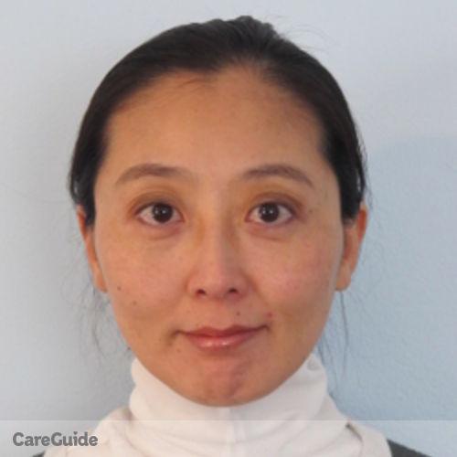 Canadian Nanny Provider Selina Gao's Profile Picture