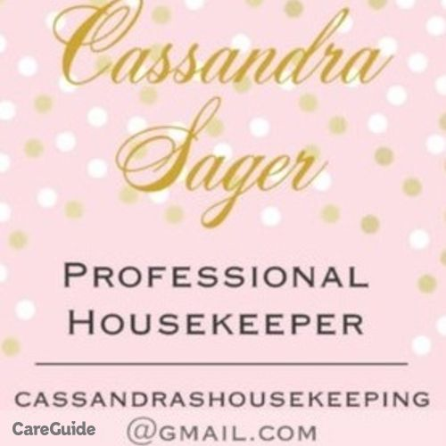 Housekeeper Provider Cassandra Sager's Profile Picture