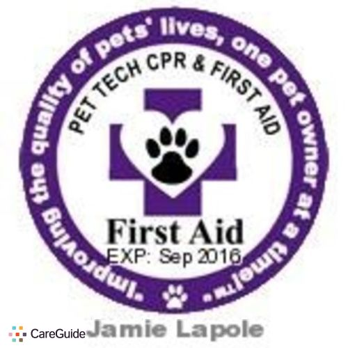 Pet Care Provider Jamie Lapole's Profile Picture