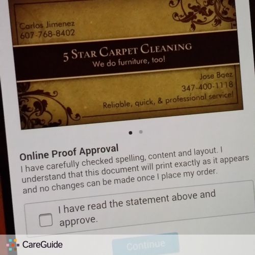 Housekeeper Provider Carlos J's Profile Picture