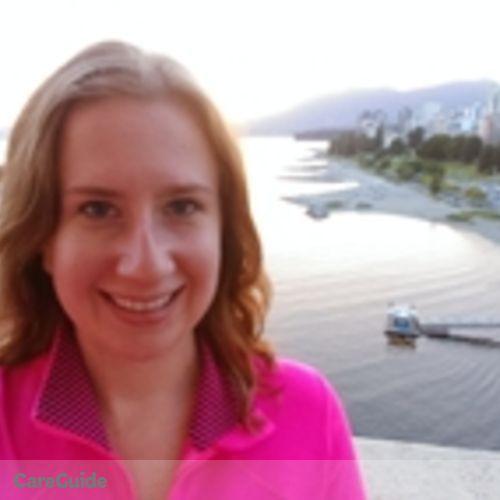 Canadian Nanny Provider Hannah Seraphim's Profile Picture