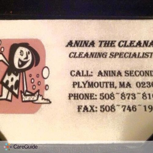 Housekeeper Provider Anina Secondo's Profile Picture