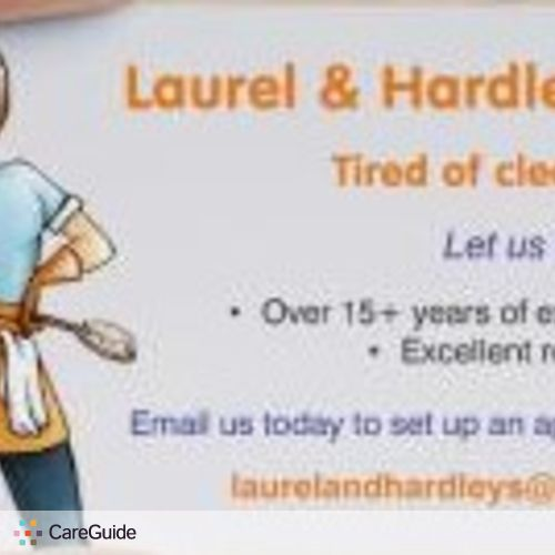 Housekeeper Provider Laurel and Hardley's's Profile Picture