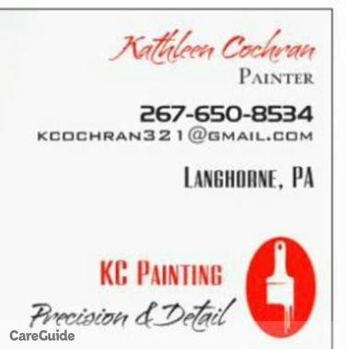 Painter Provider Kathleen C's Profile Picture