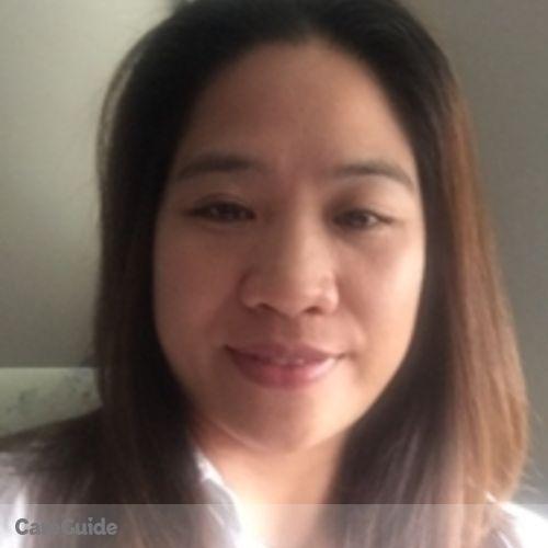 Canadian Nanny Provider Veronica Macaraeg's Profile Picture