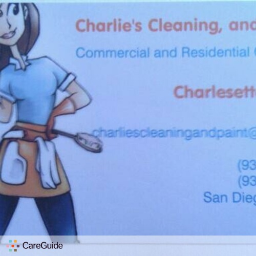 Housekeeper Provider Charlie Broom's Profile Picture