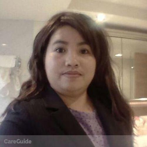 Canadian Nanny Provider Grace Baldos's Profile Picture
