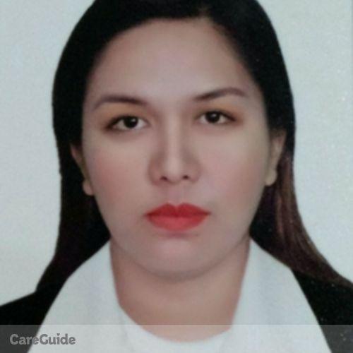 Canadian Nanny Provider Mary Ann Quirante's Profile Picture