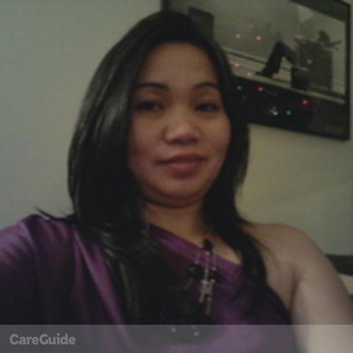 Canadian Nanny Provider Melba Vegilla's Profile Picture