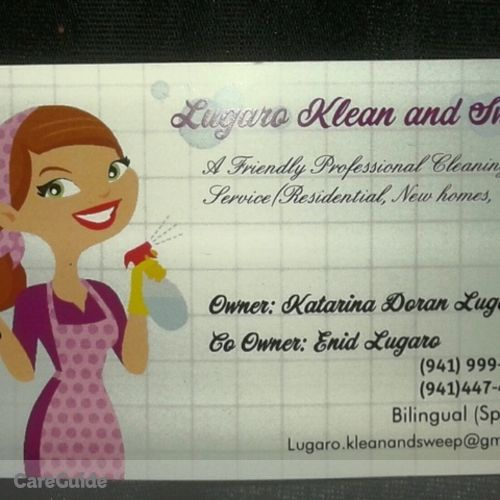 Housekeeper Provider Katarina Lugaro's Profile Picture