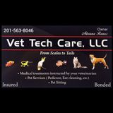 Available: Knowledgeable Veterinary Nurse that provides all pet services, Summit, West Orange, etc surrounding areas.