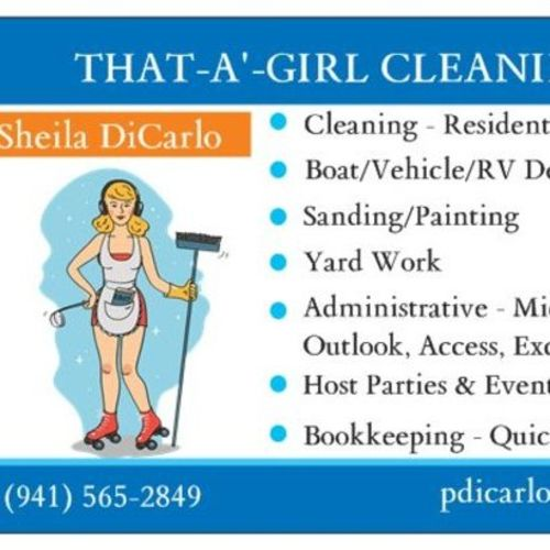 Housekeeper Provider Sheila DiCarlo's Profile Picture