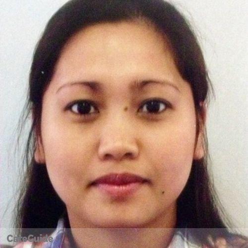 Canadian Nanny Provider Marichu Suico's Profile Picture