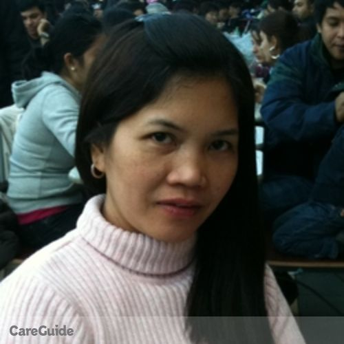 Canadian Nanny Provider Rosabel A's Profile Picture