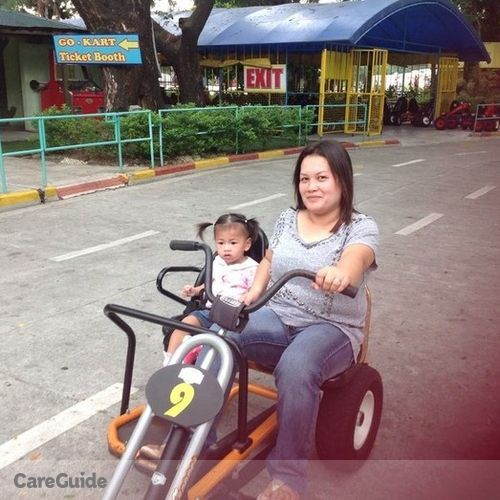 Canadian Nanny Provider Gaylee Cuanan's Profile Picture