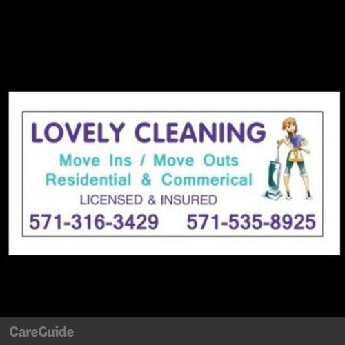 Housekeeper Provider Lovely Cleaning's Profile Picture