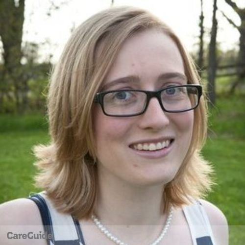 Canadian Nanny Provider Kayla Tucker's Profile Picture