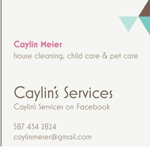 Housekeeper Provider Caylin Meier's Profile Picture
