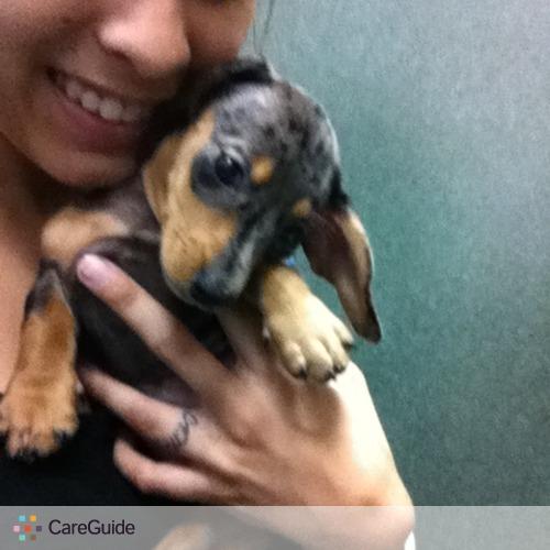 Pet Care Provider veronica p's Profile Picture