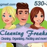Cleaning Freaks your one stop clean it all service for Redding, CA and surrounding areas.